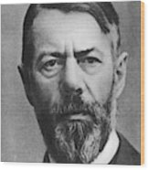 Max Weber (1864-1920) Wood Print