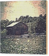 Meadow Of Memories Wood Print