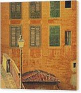 Medieval Windows Wood Print
