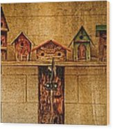 Melba Idaho Wood Print