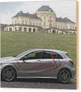 Mercedes Benz A-class Wood Print
