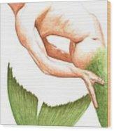 Merman Wood Print
