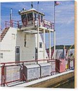 Merrimac Ferry - Wisconsin Wood Print