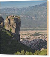 Meteora, Thessaly, Greece. The Eastern Wood Print