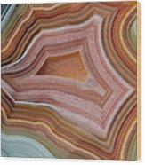 Mexican Banded Agate Quartzsite, Arizona Wood Print