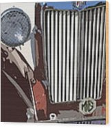 Mg Grille Abstract Wood Print