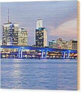 Miami 2004 Wood Print by Patrick M Lynch