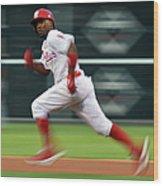 Miami Marlins V Philadelphia Phillies 2 Wood Print