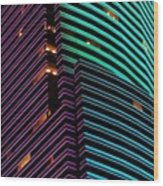 Miami Tower - Miami ( 1986 ) Wood Print