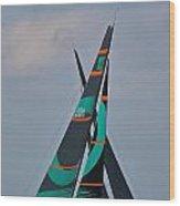 Miami Upwind Wood Print