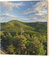 Middle Sugarloaf Mountain - Bethlehem Nh Usa Wood Print