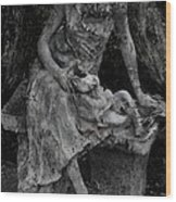 Miseries Wood Print