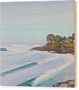 Mitchell's Cove Wood Print