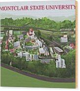 Montclair State University Wood Print by Rhett and Sherry  Erb