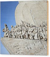 Monument To The Discoveries In Lisbon Wood Print