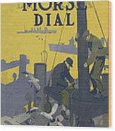 Morse Dry Dock Dial Wood Print