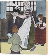 Mother Goose, 1916 Wood Print by Granger