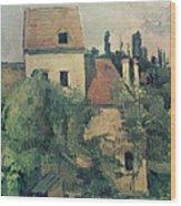 Moulin De La Couleuvre At Pontoise Wood Print