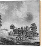 Mount Vernon, 1798 Wood Print