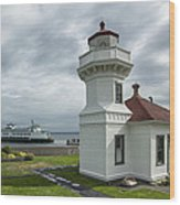 Mukilteo Lighthouse Wood Print