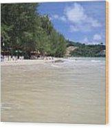 Nai Yang Beach Phuket Island Thailand Wood Print
