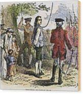 Nathan Hale (1755-1776) Wood Print