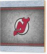 New Jersey Devils Wood Print