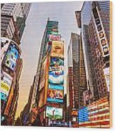 New York City - Times Square Wood Print