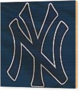 New York Yankees Uniform Wood Print