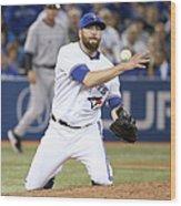 New York Yankees V Toronto Blue Jays Wood Print