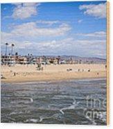 Newport Beach In Orange County California Wood Print