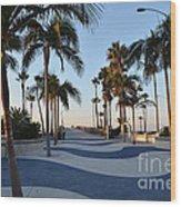 Newport Beach  Wood Print