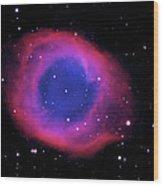 Ngc 7293 The Helix Nebula Wood Print