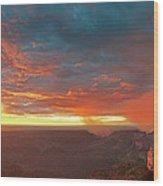 North Rim Grand Canyon National Park Arizona Wood Print