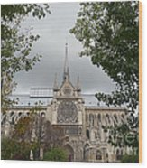 Notre Dame Cathedral Wood Print