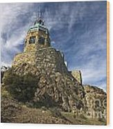Observation Tower Mount Diablo State Park Wood Print