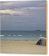 Ocean View 1 - Miami Beach - Florida Wood Print