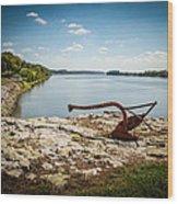 Ohio River At Elizabethtown Illinois Wood Print