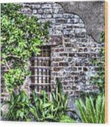Old City Jail Window Wood Print