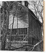 Old Mill Funk Bottoms Wood Print
