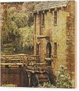 Old Mill In Arkansas Wood Print