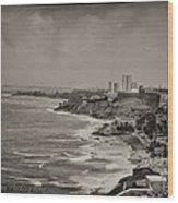 Old San Juan Wood Print