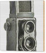 Old Still Camera Wood Print