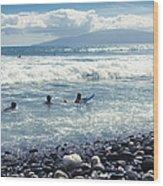 Olowalu Maui Hawaii Wood Print