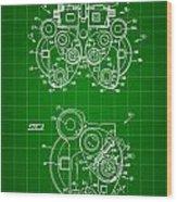 Optical Refractor Patent 1985 - Green Wood Print