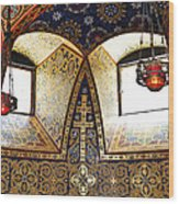 Orthodox Church Interior Wood Print