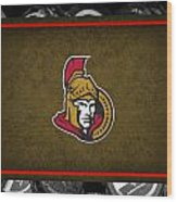Ottawa Senators Wood Print