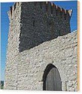 Ourem Castle Wood Print