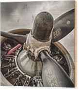 P-17 Prop Wood Print