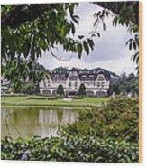 Palacio Quitandinha - Petropolis Brazil Wood Print